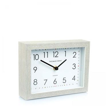 "7"""" Smithfield Mantel Clock Silver Birch"
