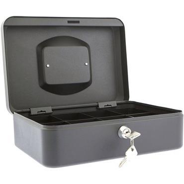 "Burg Wachter 10"" Money Cash Box Black"