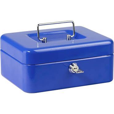 "Burg Wachter 12"" Money Cash Box Blue"