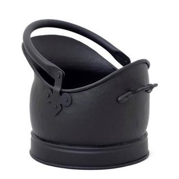 Castle Living Helmet Coal Bucket Black