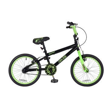 "Concept Zombie 18"""" Boys Bike Black / Green"