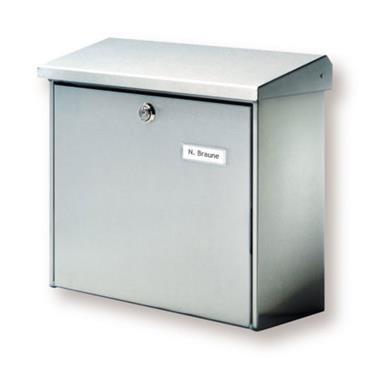 Burg Wachter Post Box Comfort Stainless Steel
