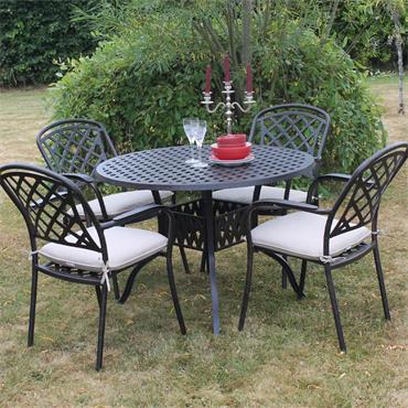 Cooley 4 Seater Dining Set