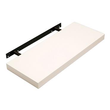 Core Hudson Floating Shelf (Cream Gloss) 600mm