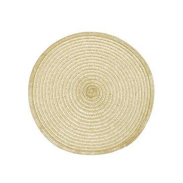 Circular Placemat Small Gold