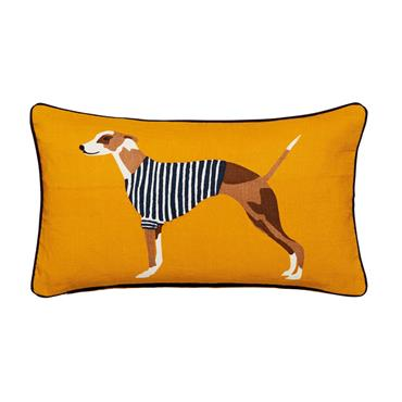 Harbour Dogs Cushion Ant Gold