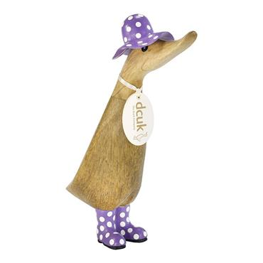 Dcuk Assorted Spotty Hat Duckling