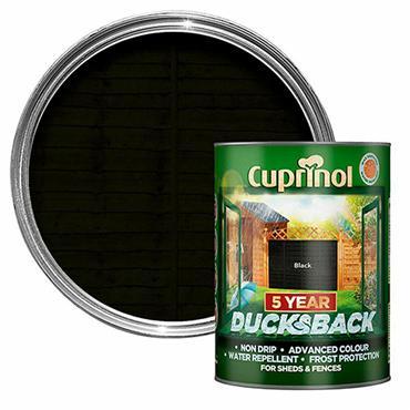 Cuprinol Ducksback Black 5L