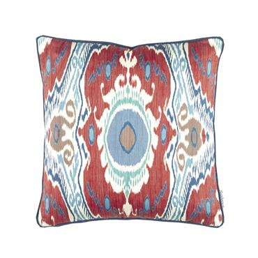 Sanderson Niyali Cushion Annato Midnight 43x43