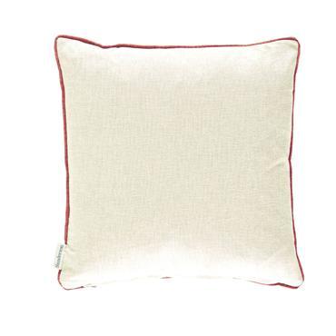 Sanderson Niyali Cushion Teal Saffron 43x43