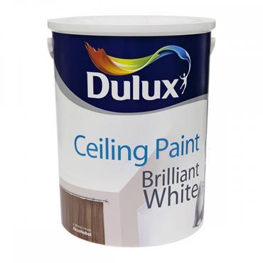 Dulux Ceiling Paint Brilliant White 5L