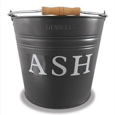 De Vielle Grey Ash Bucket
