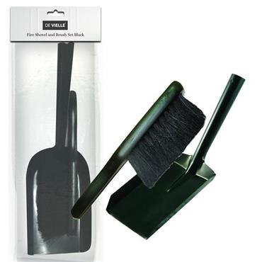 De Vielle Fire Shovel & Brush Set