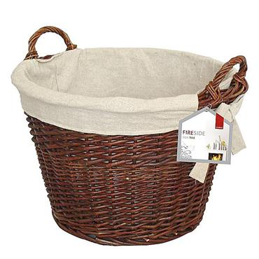 De Vielle Wicker Round Basket