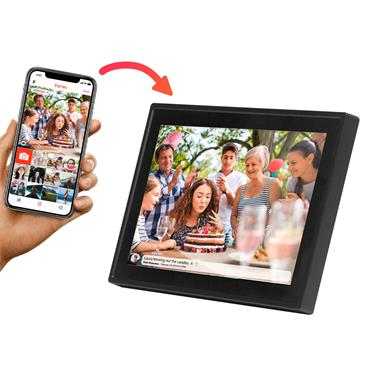"Denver 10.1"" Black Digital Wifi Photoframe"