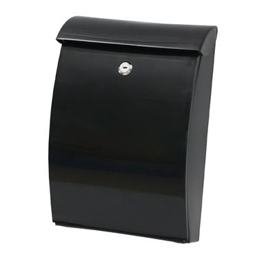 De Vielle ABS All Weather Post Box Black