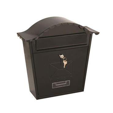 De Vielle Postplus Traditional Post Box Grey