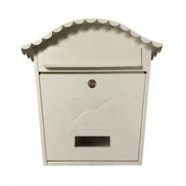 De Vielle Postplus Traditional Post Box Cream