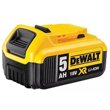 Dewalt XR Slide Battery Pack 18v 5.0Ah Li-Ion