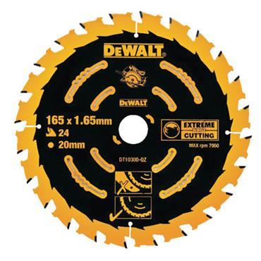 Dewalt Extreme Framing Circular Saw Blade 165 x 20mm x 40T