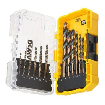 Dewalt Black & Gold HSS Drill Set 19pce