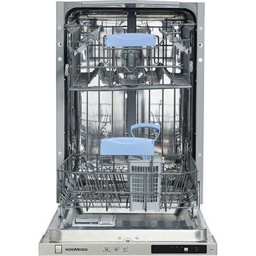 Nordmende 45cm Integrated 3 Programmes 10 Place Settings Dishwasher