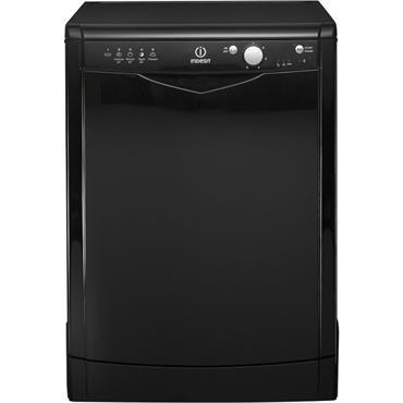 Indesit Dishwasher 13-Place Black