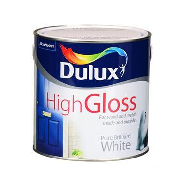 Dulux High Gloss Pure Brilliant White 1L