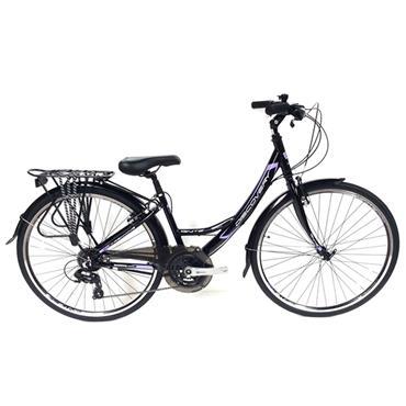 "Ignite Discovery Ladies Hybrid 18"" 24 Speed Bicycle"