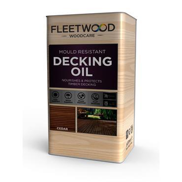 Fleetwood Decking Oil Natural Cedar 5L