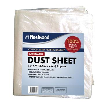 Fleetwood Laminated Dust Sheet 12 x 9ft