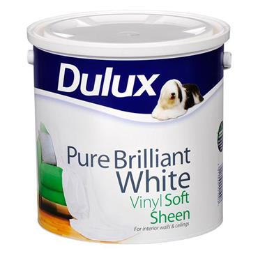 Dulux Softsheen Pure Brilliant White 2.5L