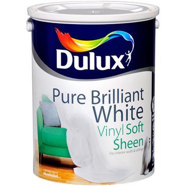 Dulux Softsheen Pure Brilliant White 5L