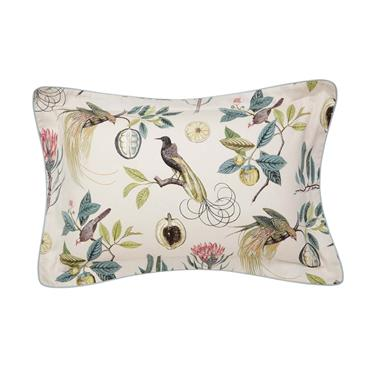 Sanderson Paradesia Pillowcase Oxford Orchid & Grey