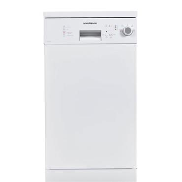 Nordmende 45cm 4 Programmes Dishwasher White