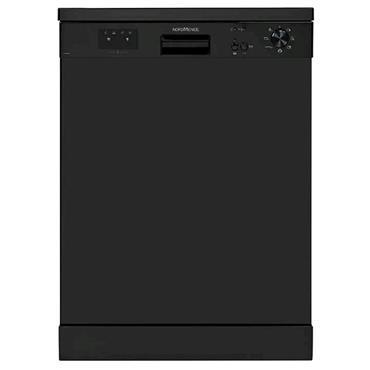 Nordmende 60cm Freestanding Dishwasher Black