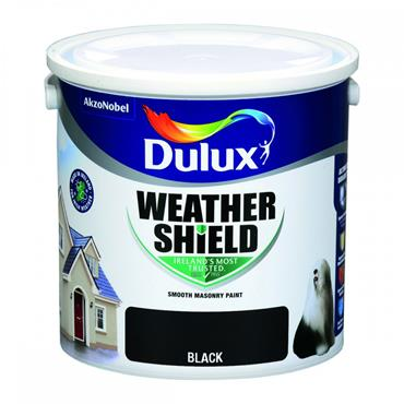 Dulux Weathershield Black 2.5L