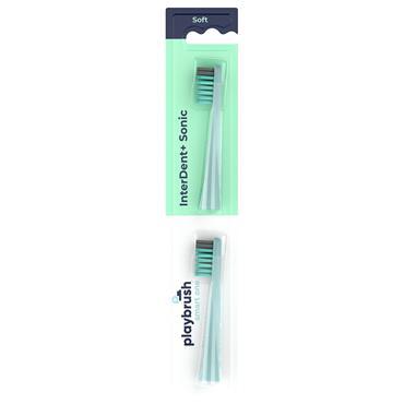 Playbrush Smart One Toothbrush Head Mint 2pk