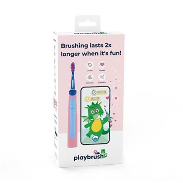 Playbrush Smart Sonic Kids Toothbrush Pink