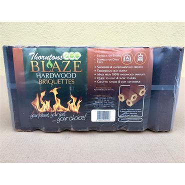 Thorntons Ecoblaze Hardwood Briquettes 10kg 12pk