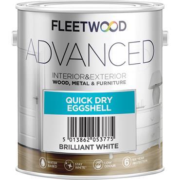 Fleetwood 500ml White Advanced Eggshell