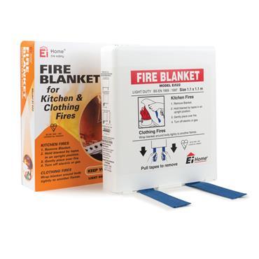 Ei Fire Blanket 1.1m X 1.1m Flat Pack