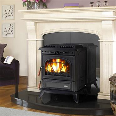 Waterford Stanley Erin Boiler Stove Matt Black