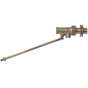 "Easi Plumb 0.5"" H.P. Brass Ballvalve - 3"" Tail 6"" Lever"