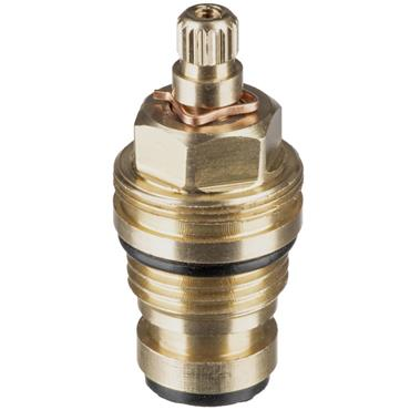 """Easi Plumb Single .5"""" Brass Replacement Spindle only"""
