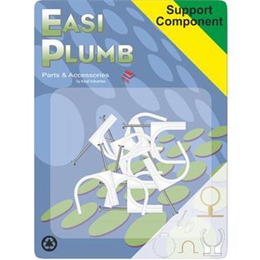 """Easi Plumb 0.75"""" Nail Pipe Clips 5 pack"""