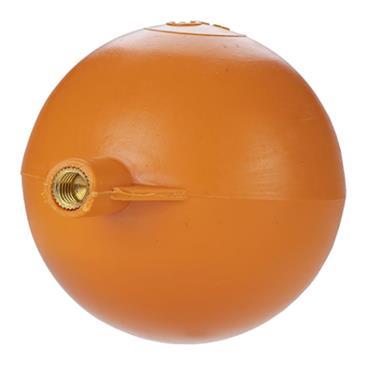 "3"" Round Disc Plastic Ball Float"
