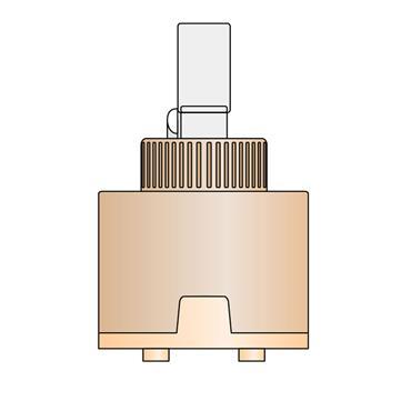 Easi Plumb 40mm Replacement Monobloc Cartridge