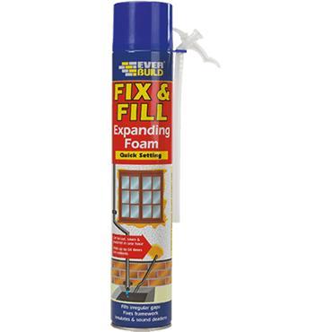 Everbuild Fix & Fill Expanding Foam 750ml