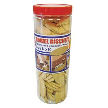 Faithfull Biscuit Wood No.10 125pk